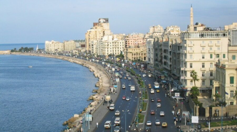 Transfer to Alexandria
