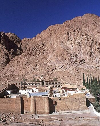 Transfer to St. Catherine monastery