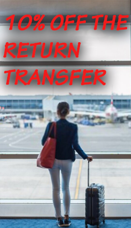 10% off the return transfer